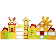 """Стенка детская """"Цветочная поляна""""  28501"""