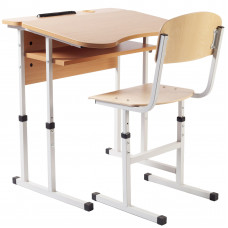 Комплект парта и стул 90136+90292